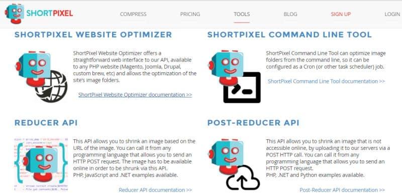 ShortPixel website optimizer