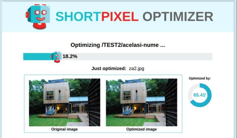 ShortPixel website optimizer