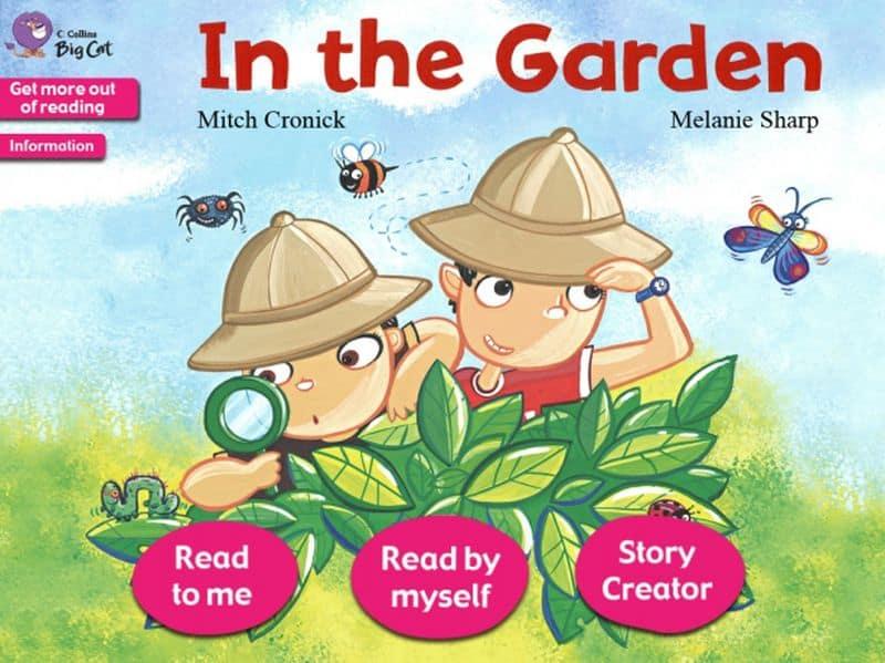 Big Cat in the Garden Story Creator