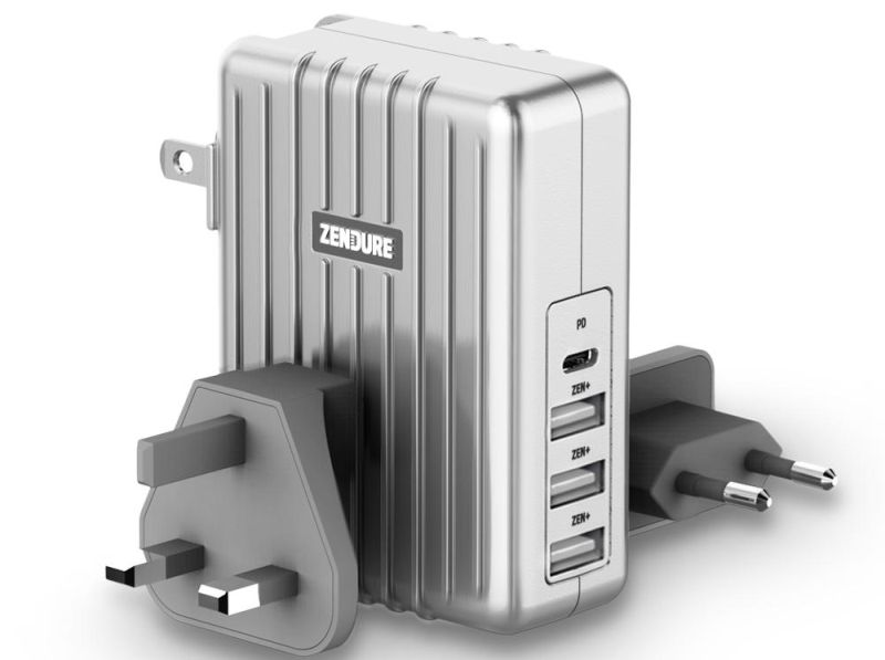 45W 4-Port USB-C PD Wall Charger