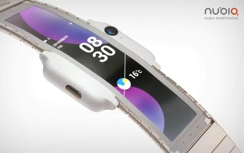 NUBIA foldable phone