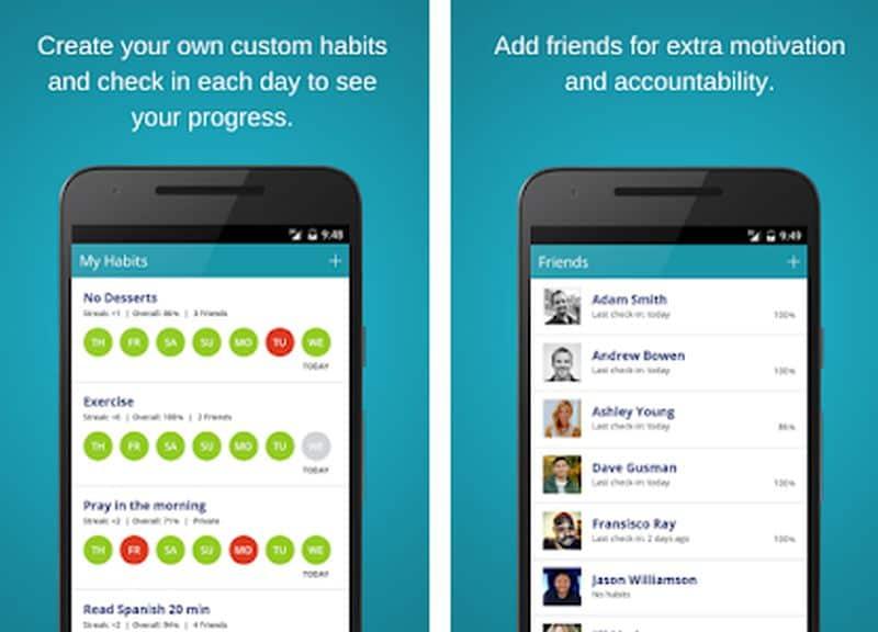 Habitshare app