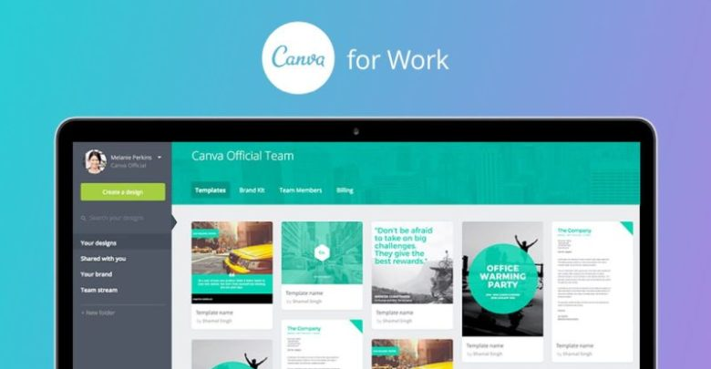 Canva Online Graphic Design App