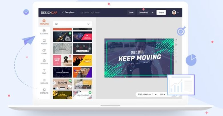 DesignCap, a highly advanced design tool