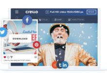 create easy design with Crello software