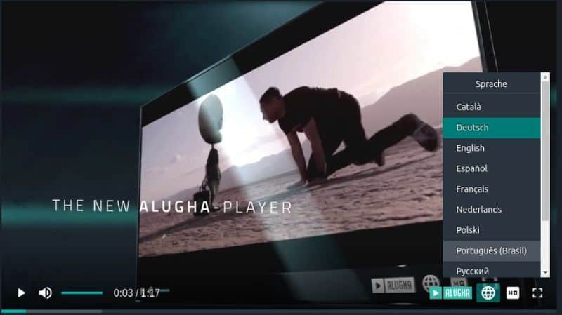 multilingual video creation with Alugha
