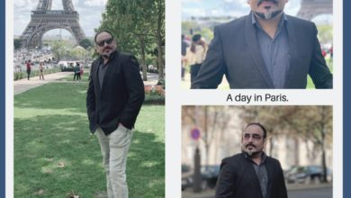 A day in Paris - Dr Prem Jagyasi
