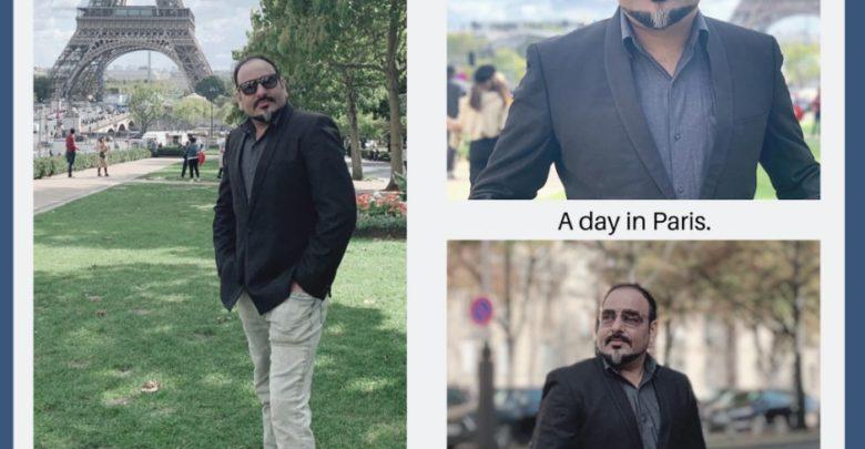 A day in Paris - Dr Prem Jagyasi