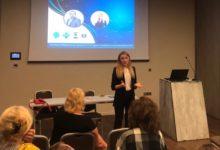Anna Guchok Delivering Workshop in Slovenia