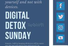 Photo of Digital Detox Sunday
