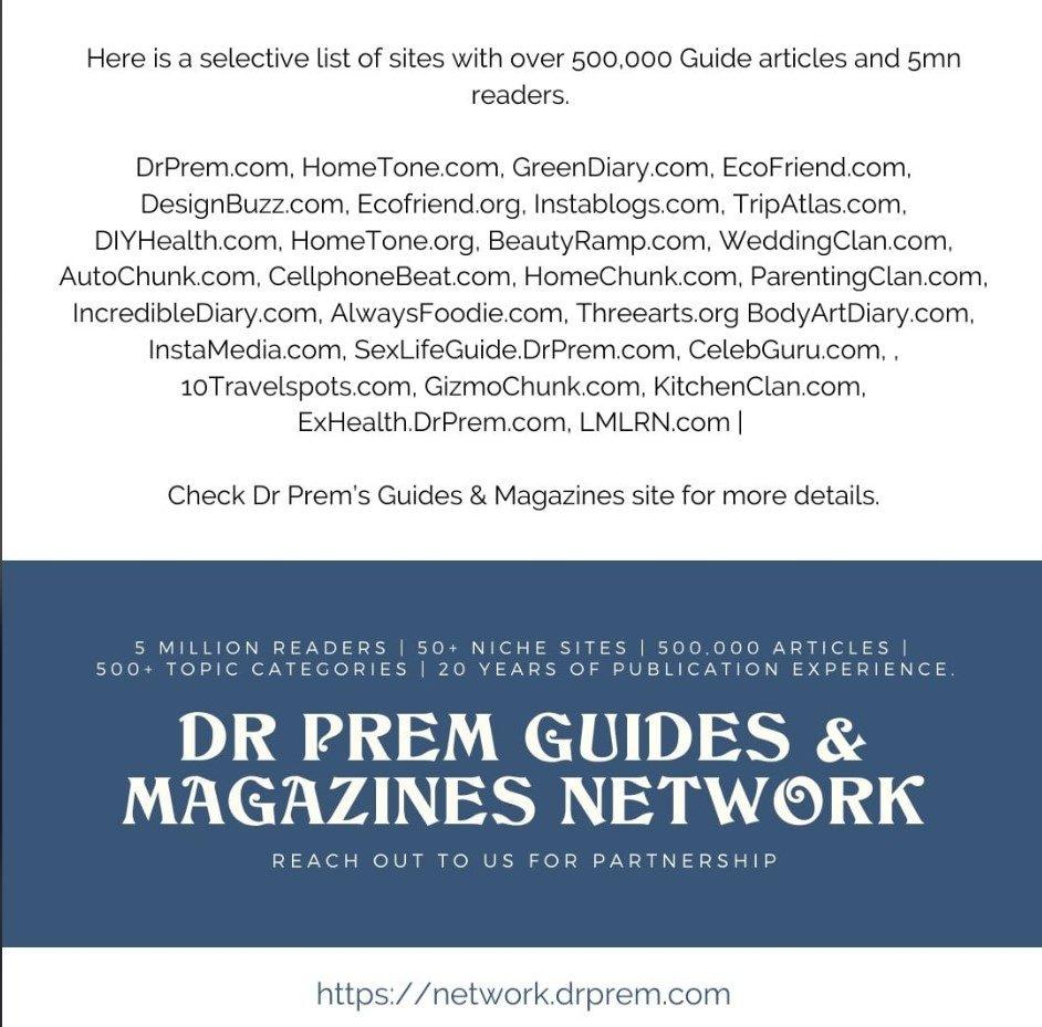 Dr Prem Guides & Magazines Network1
