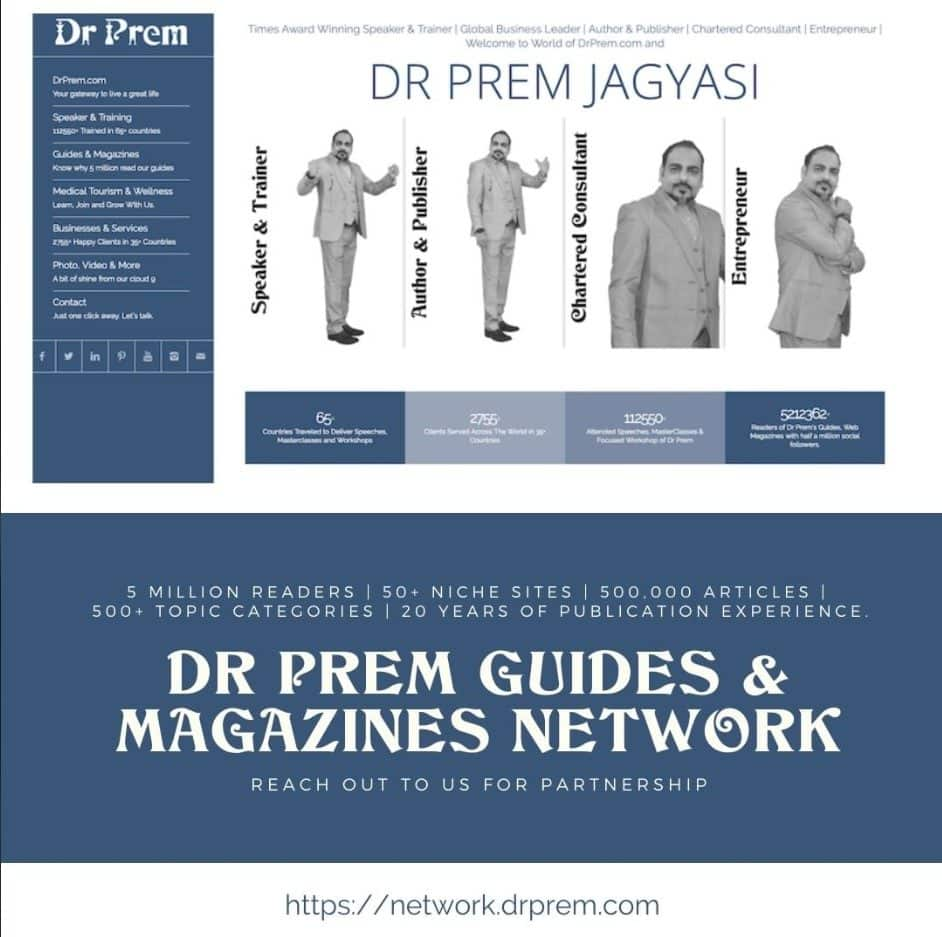 Dr Prem Guides & Magazines Network_Home