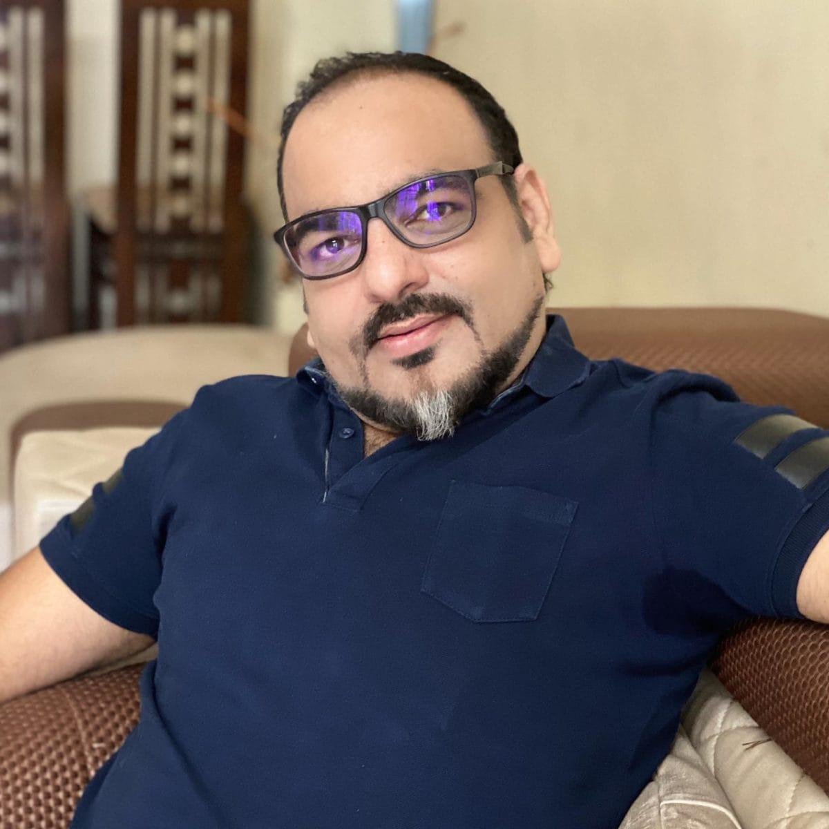 My new look image Dr Prem Jagyasi