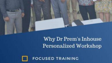 Dr Prem's Personalized Medical Tourism Workshop