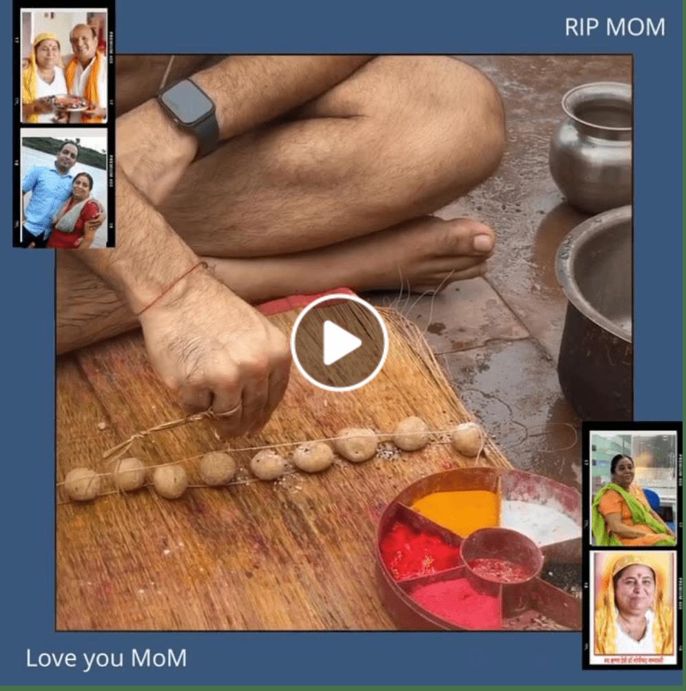 RIP MOM - Dr Prem Jagyasi