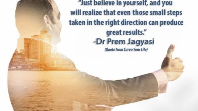 Photo of Just Believe in Yourself – Quotes From Carve Your Life