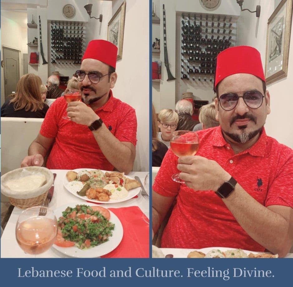 Lebanese Food & Culture In Paris France - Dr Prem Jagyasi