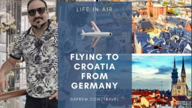 Life In Air - Flying To Croatia From Germany - Dr Prem Jagyasi