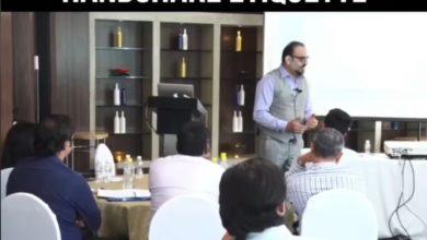 National Handshake Day - Dr Prem Jagyasi