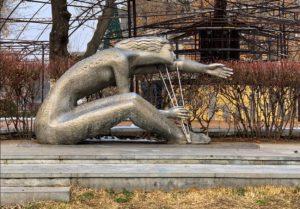 Statue At Armenia