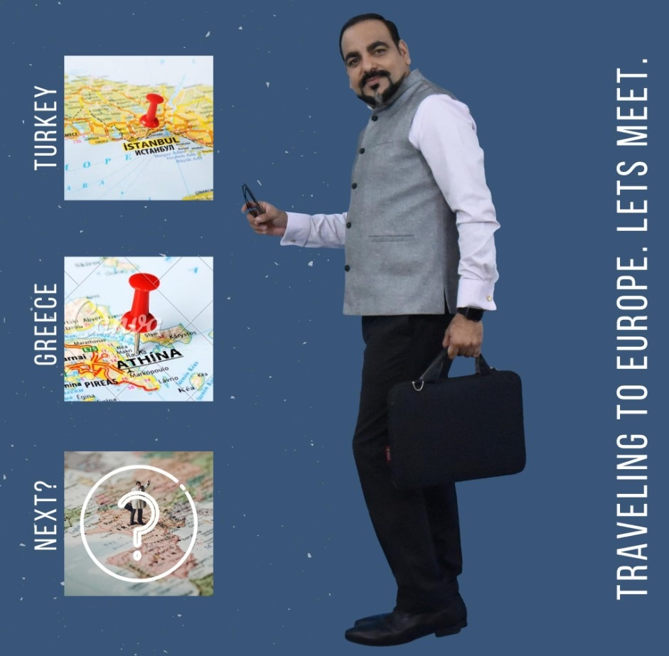 Travelling To Europe Let's Meet Dr Prem Jagyasi