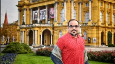Photograph from Croatian National Theatre in Zagreb - Dr Prem