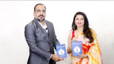 Carve Your Life Book Launched by Mesmerising Actress Bhagyashree - Dr Prem