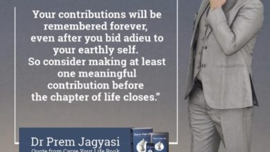 Photo of Contribution Quotes From Carve Your Life Book