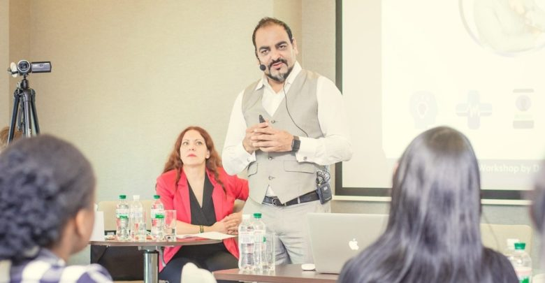 Coprorate Workshp For Senior Delgates Of Big Corporate - Dr Prem