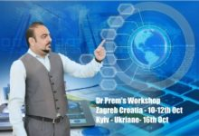 Dr Prem's Workshop At Zagreb Croatia And Kyiv Ukraine