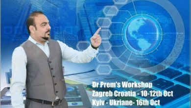 Photo of Dr Prem's Workshop At Zagreb Croatia And Kyiv Ukraine