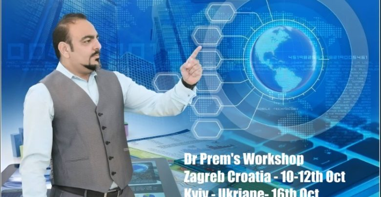 Dr Prem's Workshop At Zagreb Croatia And Kyiv Ukraine