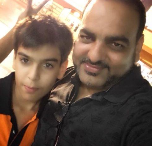 Happy Birthday My Hero Naman - Dr Prem Jagyasi 2