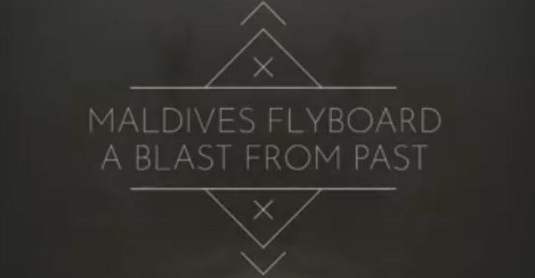 Maldives Flyboard Trip - Dr Prem Jagyasi