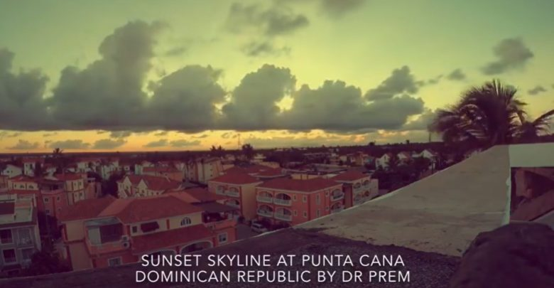 Photo of Sunset Skyline At Punta Cana, Dominican Republic By Dr Prem Jagyasi