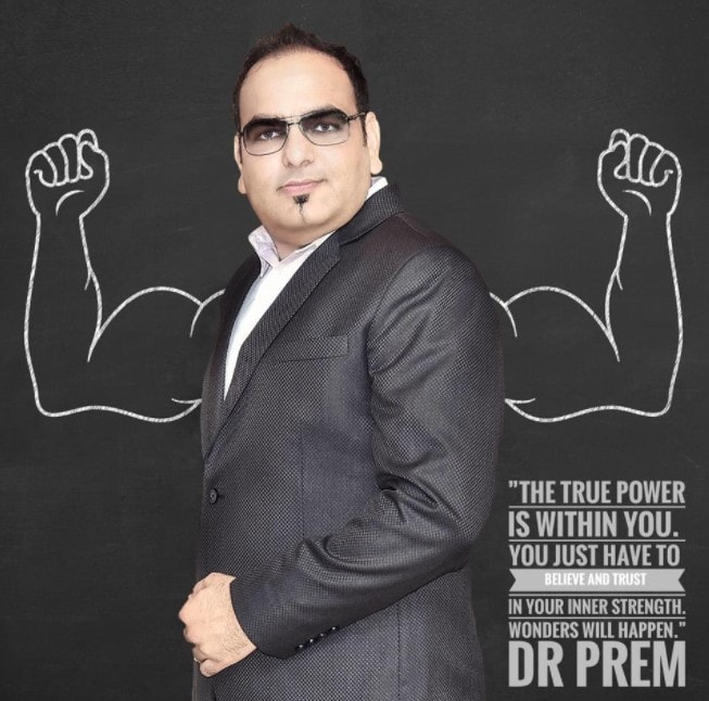 The True Power Is Within You Quote From Carve Your Life Book - Dr Prem Jagyasi
