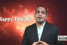 Wishing you happy Diwali.- Dr Prem Jagyasi