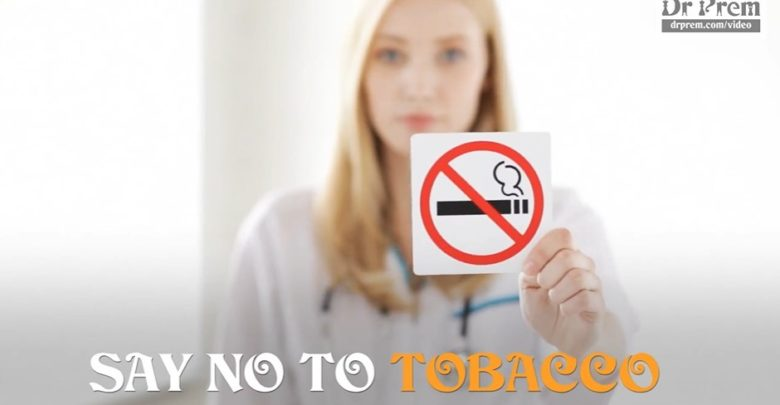 World No Tobacco Day - Dr Prem Jagyasi
