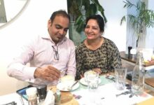 A Cup Of Cappuccino With My Lovely Sister Dolly Khatri - Dr Prem Jagyasi
