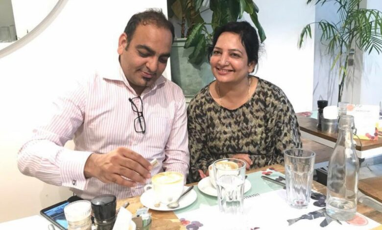 Photo of A Cup Of Cappuccino With My Lovely Sister Dolly Khatri