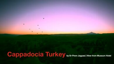 Cappadocia Turkey View From Museum Hotel By Dr Prem Jagyasi