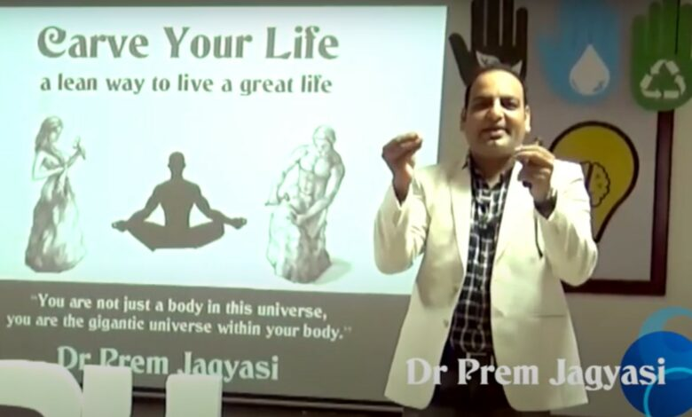 Carve Your Life - A Lean Way To Live A Great Life - Dr Prem Jagaysi