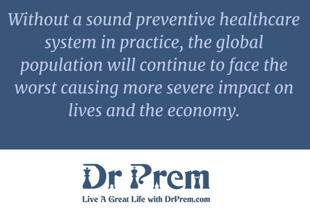 Covid-19, The Catalyst Towards Transformative Healthcare - Dr Prem Jagyasi 4