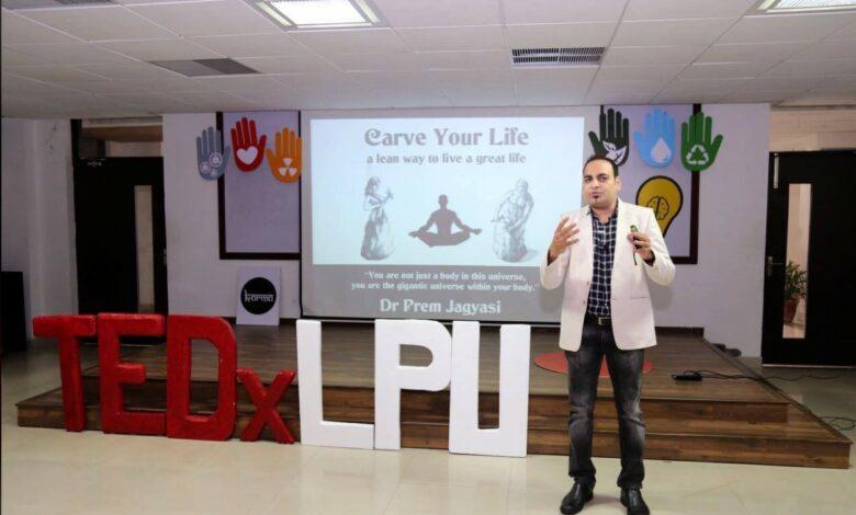 Honour And Privilege To Deliver Speech At TEDx Event - Dr Prem Jagyasi