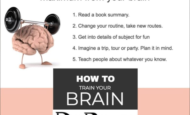 How To Train Your Brain - Dr Prem Jagyasi