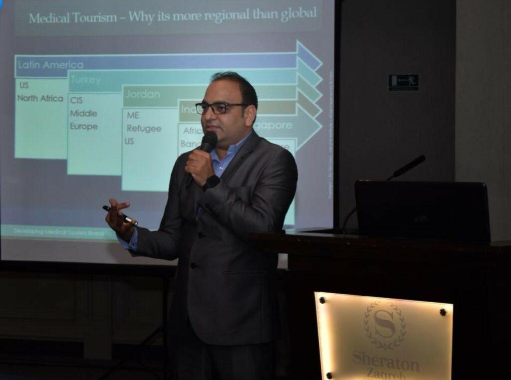 In Zagreb Croatia, Delivered A Workshop On Developing Brand - Dr Prem Jagyasi 1