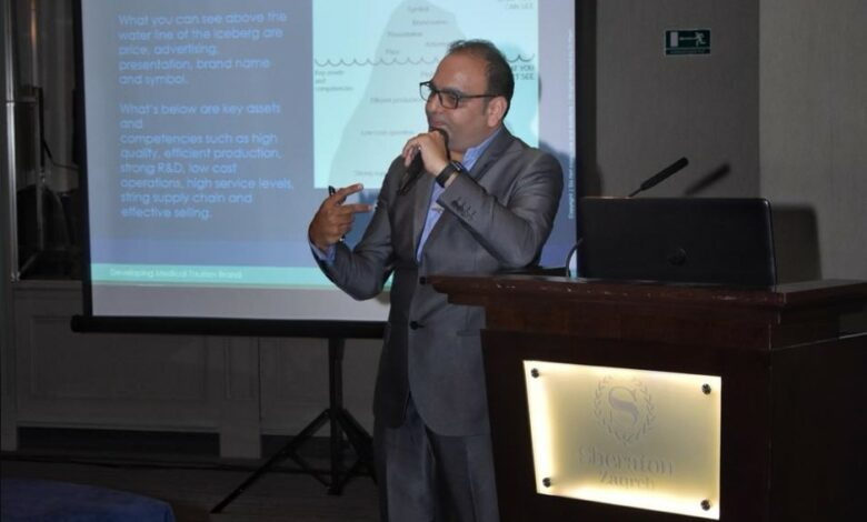 In Zagreb Croatia, Delivered A Workshop On Developing Brand - Dr Prem Jagyasi 2