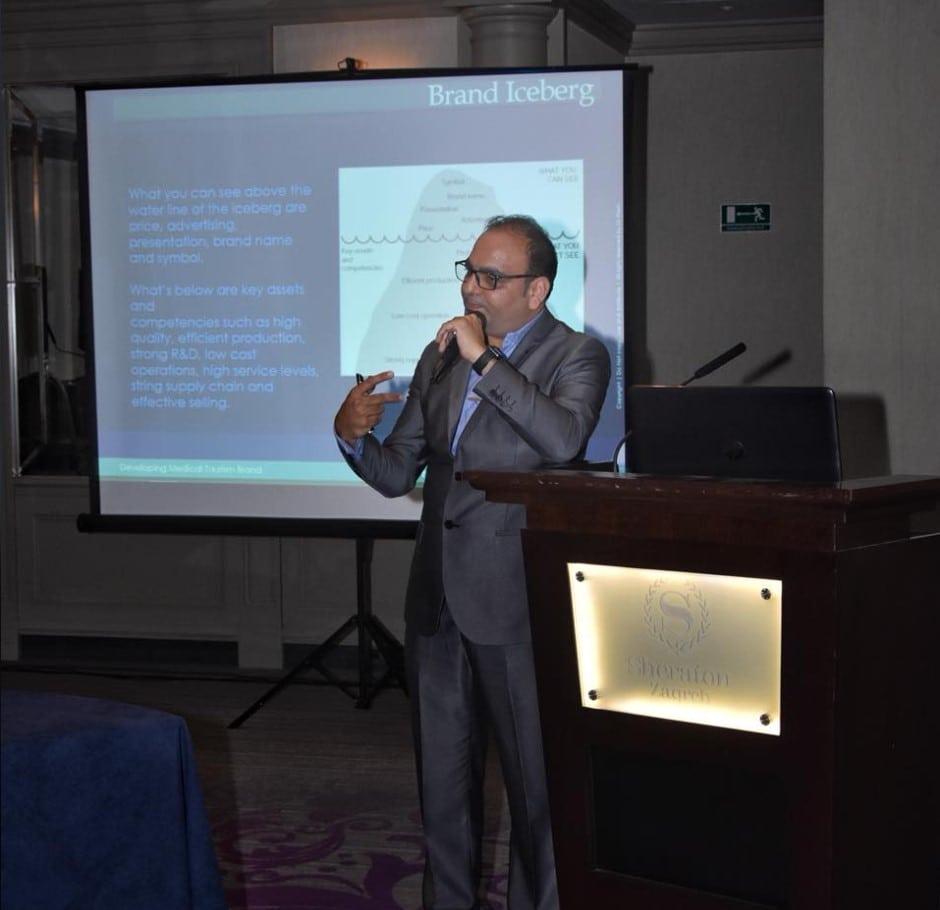 In Zagreb Croatia, Delivered A Workshop On Developing Brand - Dr Prem Jagyasi 2