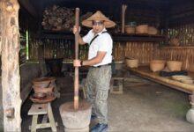 Photo of Indonesian Luwak Coffee Under Making At Udud Bali