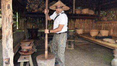 Indonesian Luwak Coffee Under Making At Udud Bali - Dr Prem Jagyasi